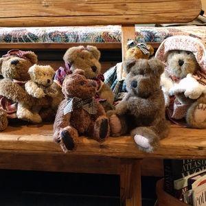 Boyd's Bear Retired Lot! 6 bears